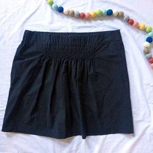 Banana Republic Black Cotton Skirt 12